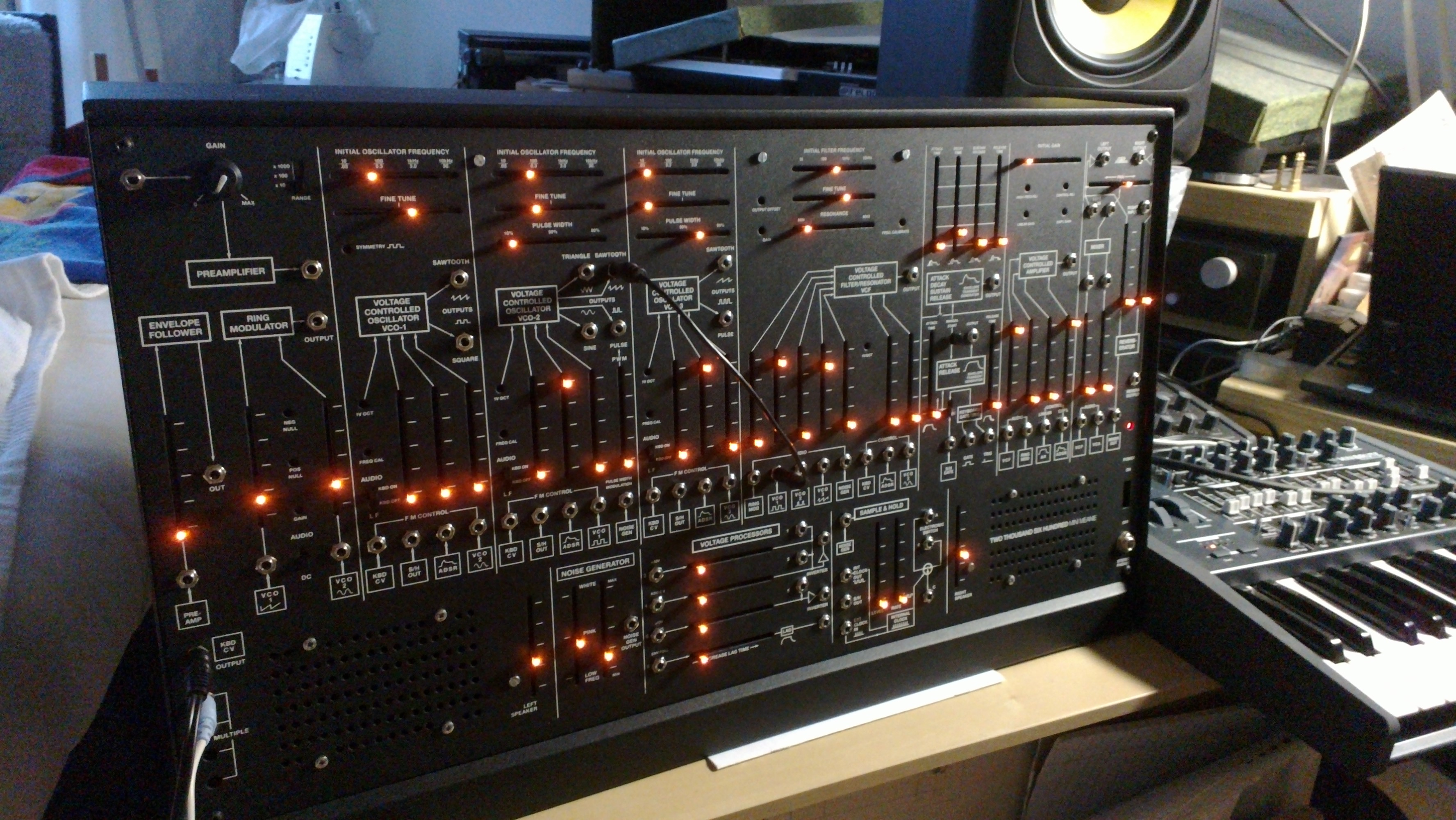 Mein TTSH Synthesizer