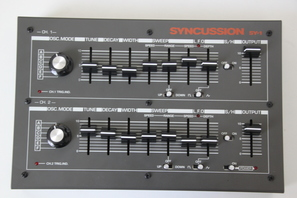 Syncussion SY-1 Frontpanel