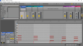 Sequenz in Ableton