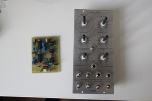Yusynth VCO Frontpanel - lazertran